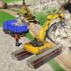 水陆两用挖掘机起重机倾倒卡车模拟器 3D