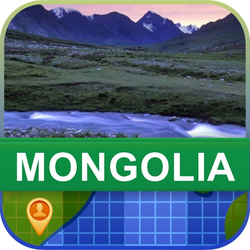 Offline Mongolia Map - World Offline Maps