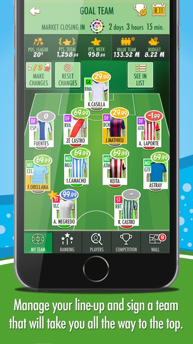 download BeManager - Manage your football team apps 3