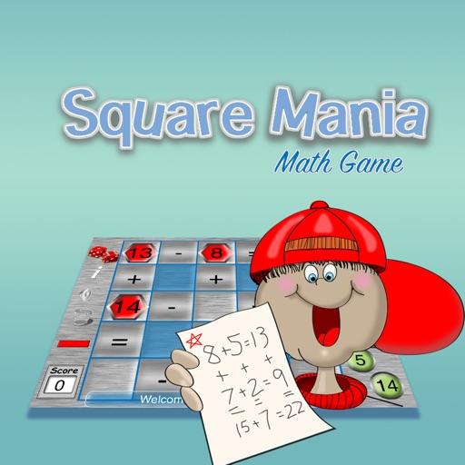 Square Mania Math Game