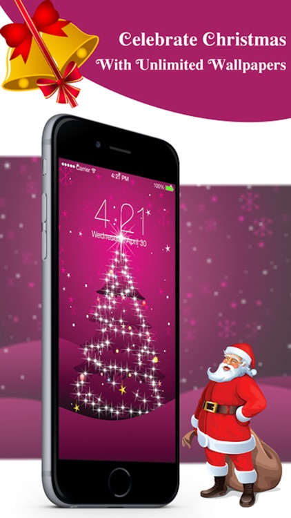 Christmas Live Wallpapers™ & Custom Backgrounds HD screenshot-3