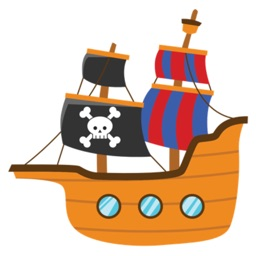 Cute Pirate Stickers For iMessage