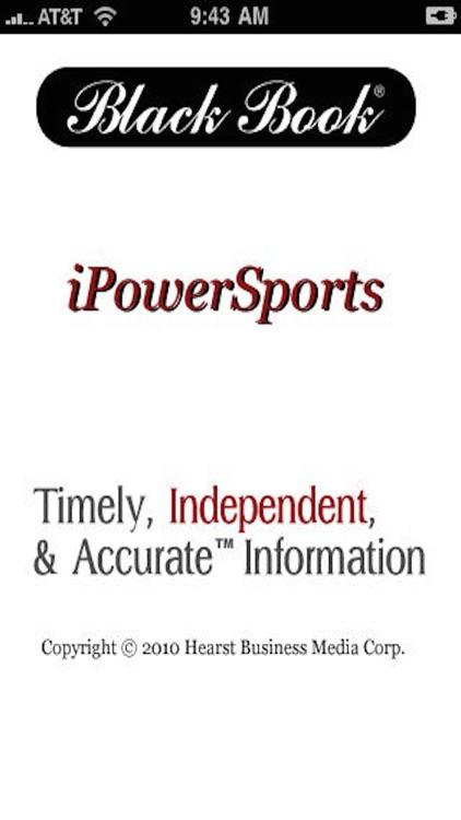 Black Book iPowerSports