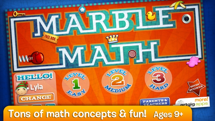 Marble Math screenshot-0