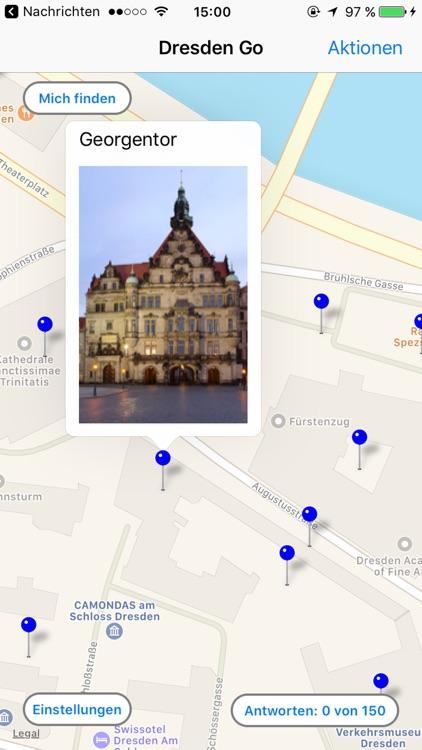 Dresden Go - Reiseführer und Quiz App screenshot-3