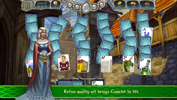 Avalon Legends Solitaire 2 screenshot-2