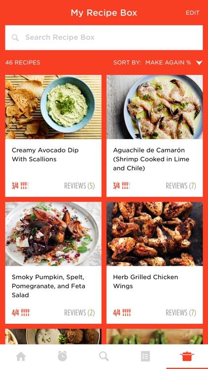 Epicurious Recipes & Food Videos screenshot-0
