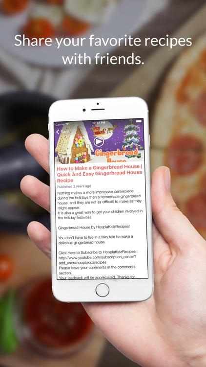 Kids Recipes: Food recipes, cookbook, meal plans screenshot-3