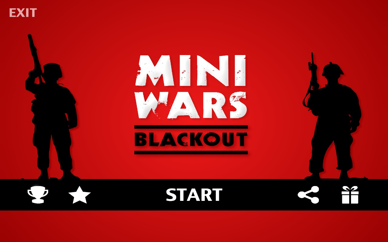 Screenshot do app Mini Wars Blackout