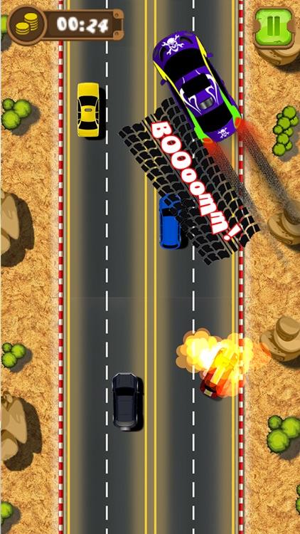 Mad Car Drive 2D: Crazy Driver screenshot-3