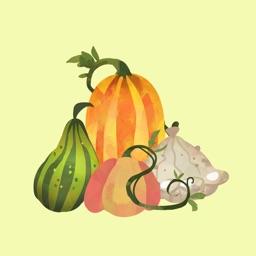 CreativeStickrs - Jane's Pumpkins and Gourds