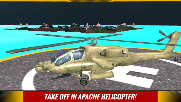 Military Helicopter Pilot Wars Rescue 3D Simulator screenshot-3