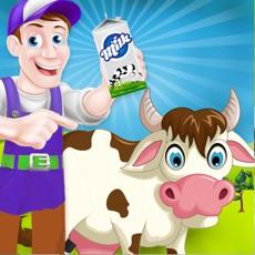 Activities of Milk Factory Farm Simulator Cooking Game