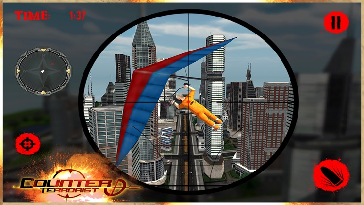 Elite Roof-top Sniper Assassin: Shoot Secret Agent