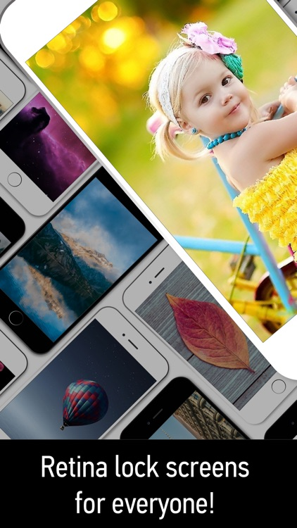 Wallpapers Themes- Custom Lock Screens,Backgrounds screenshot-4