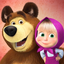 Masha and the Bear: stickers for iMessage