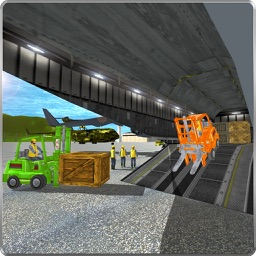 Extreme Airport Forklift Simulator 3D