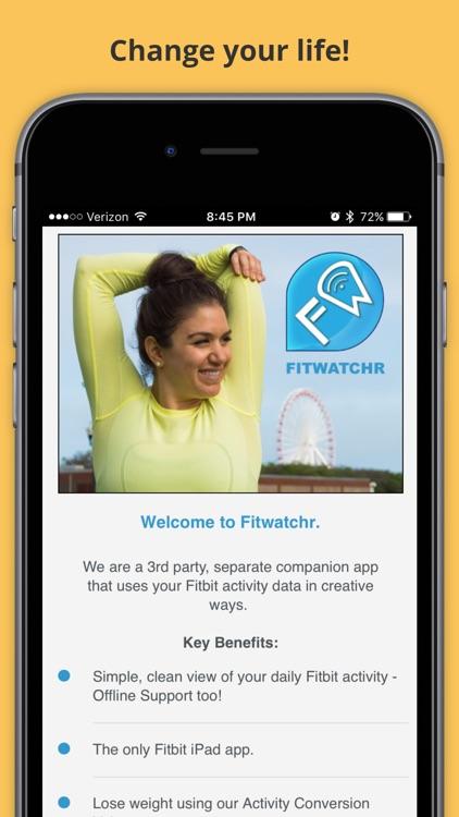 Fitwatchr screenshot-3