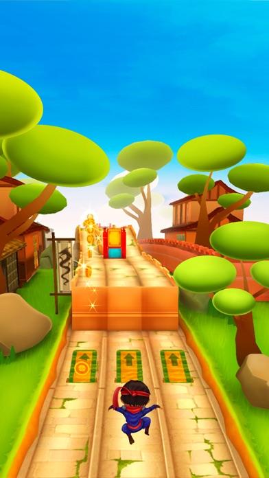 忍者の子供の実行: 最高の無料レースゲームのスクリーンショット3