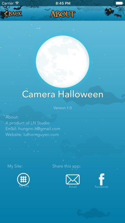 Camera Halloween - Scary Camera screenshot-4