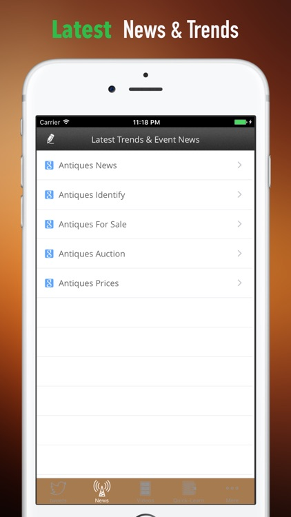 Antiques 101:Collectibles Glossary and Top News screenshot-4