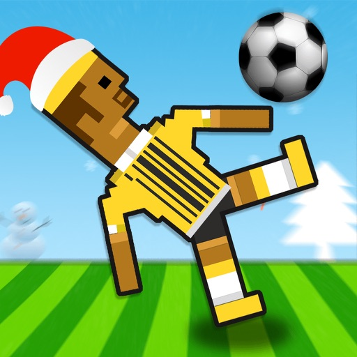 2017 Happy Soccer Physics 2 player christmas Games