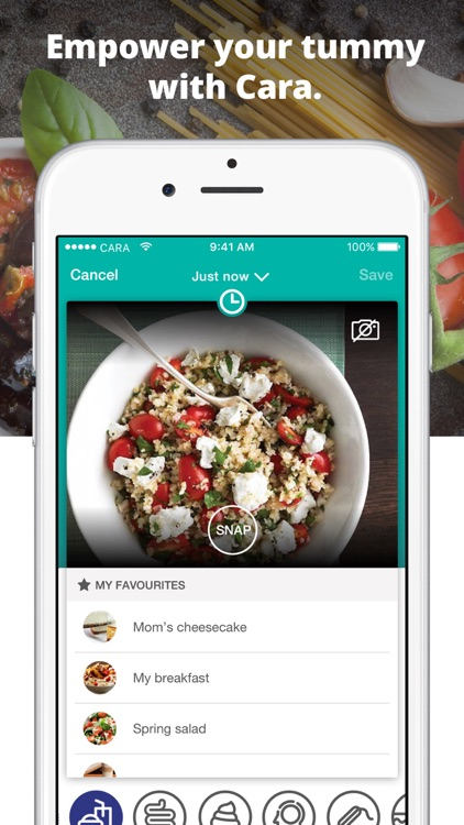 Cara: Food, Mood, Poop Tracker