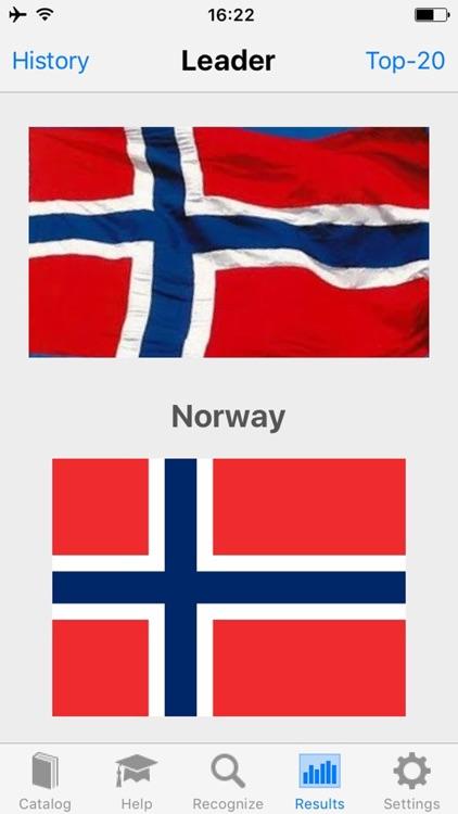 Flag Recognizer