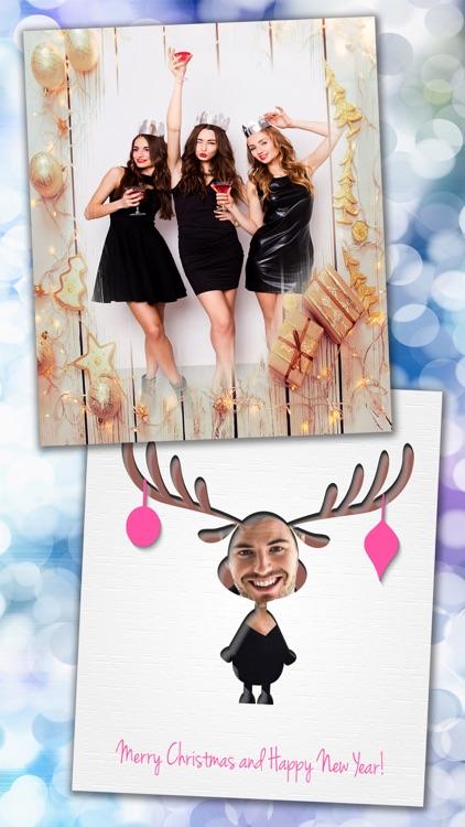 New Christmas Photo Frames– Picture Editor & Album screenshot-4