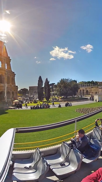 VR Rome Bus Tour Virtual Reality 360 screenshot-1