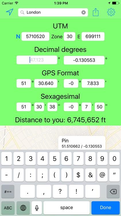 UTM Coordinates Tool screenshot-4