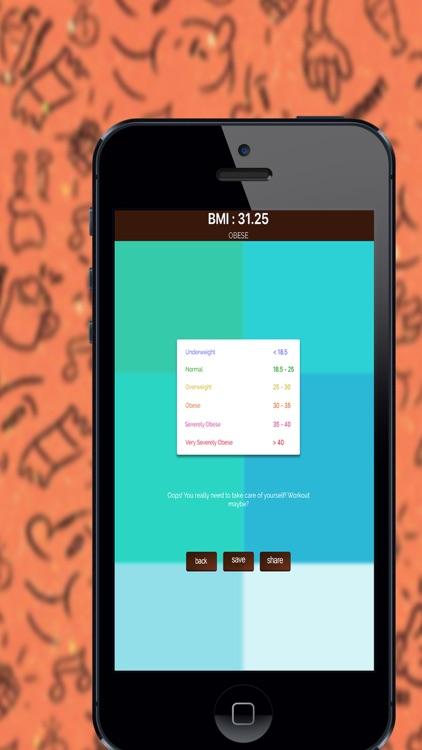 Ideal Weight Tracker - BMI Calculator
