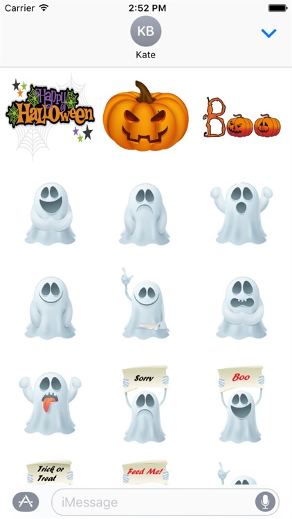 Halloween Stickers 2 screenshot-2