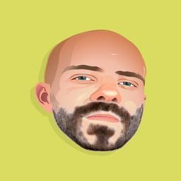 Beard & Mustache Stickers