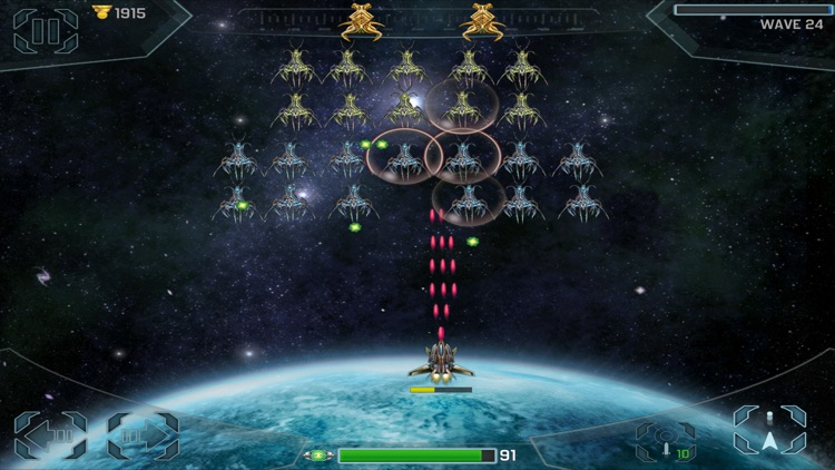 Space Cadet Defender HD: Invaders screenshot-1