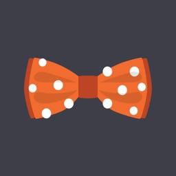 Bow Tie Stickers
