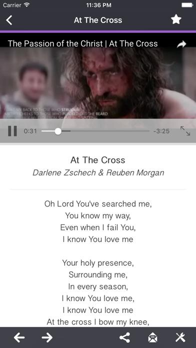 Hymns (English) screenshot three