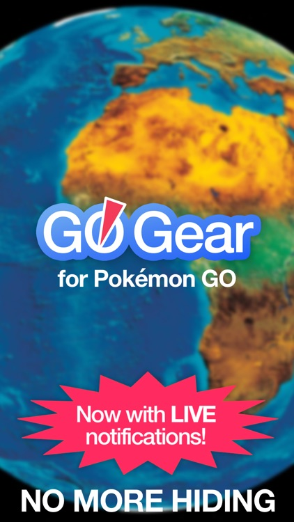 GO Gear - Live Maps for Pokémon GO