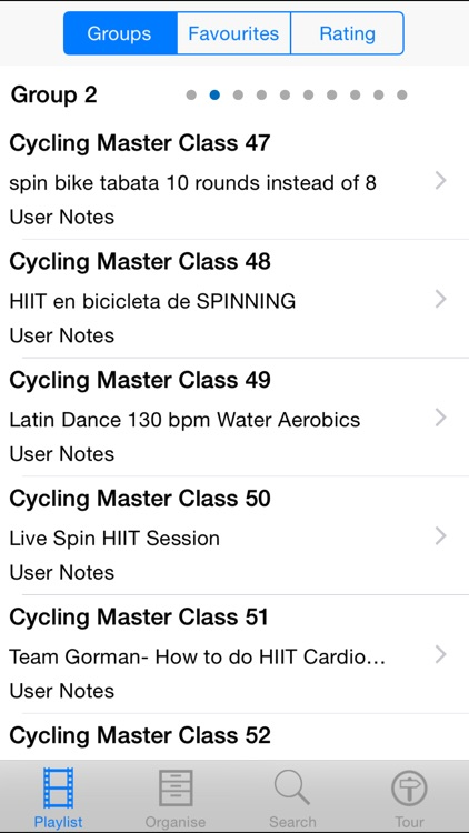 Cycling Master Class