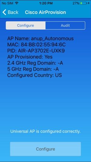 Cisco AirProvision on the App Store