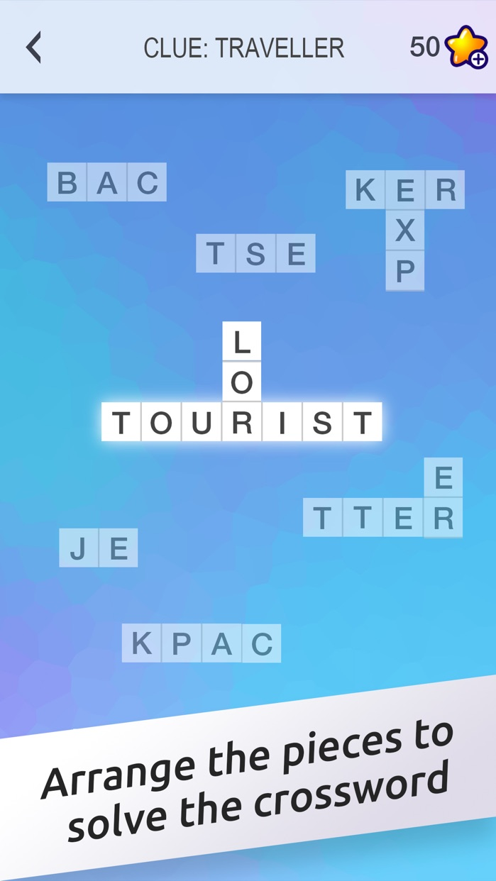 Crossword Jigsaw - Word Search and Brain Puzzle with Friends Screenshot