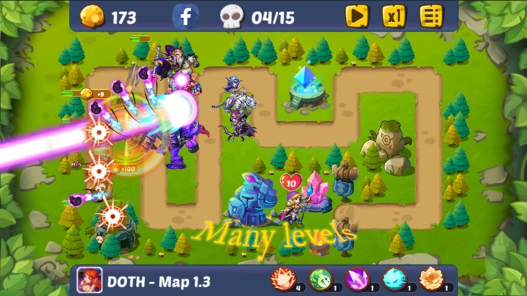 Defense of the Heroes screenshot-4