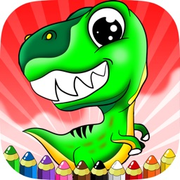 Dinosaurs Coloring Pages Drawing Painting For Kids