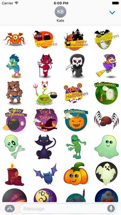 Halloween Sticker Messenger
