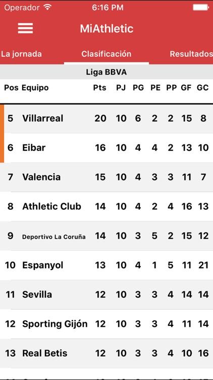 "Miathletic - ""for Athletic Club de Bilbao fans"" screenshot-4"