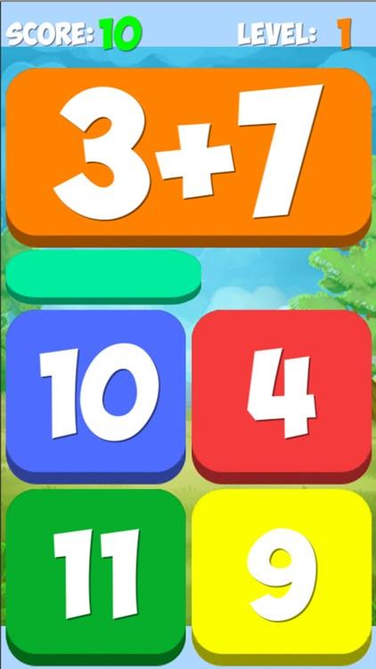 Math Answers 4 and 12 Matching Games screenshot-3