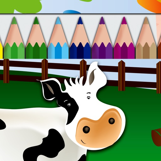 Draw and Colour: The Farm