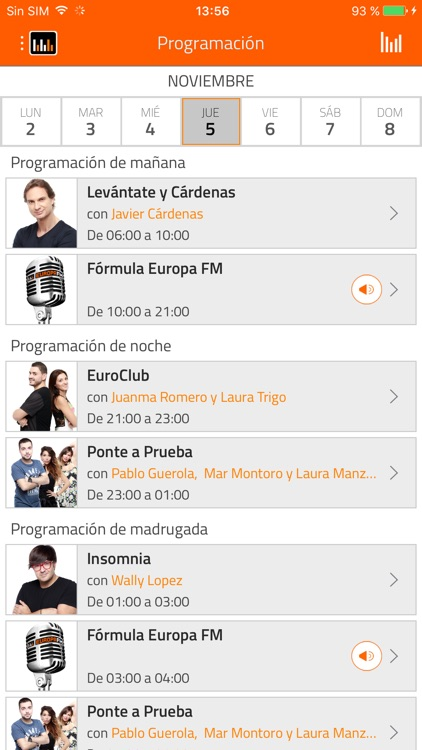 EuropaFM Radio screenshot-2