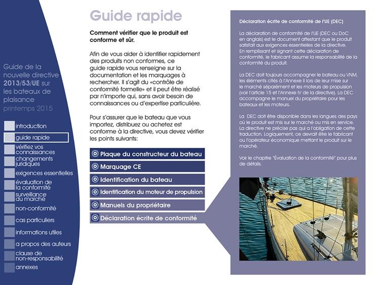 Guide sur la directive UE bateaux de plaisance screenshot-4
