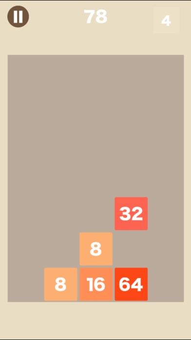 [大人の脳トレ] ブロック2048 脳トレ暇つぶしゲーム紹介画像1